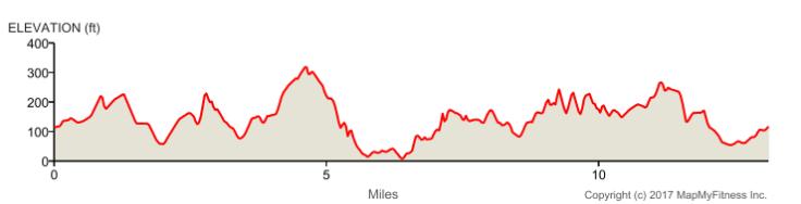 Seattle, Half marathon, elevation, race course