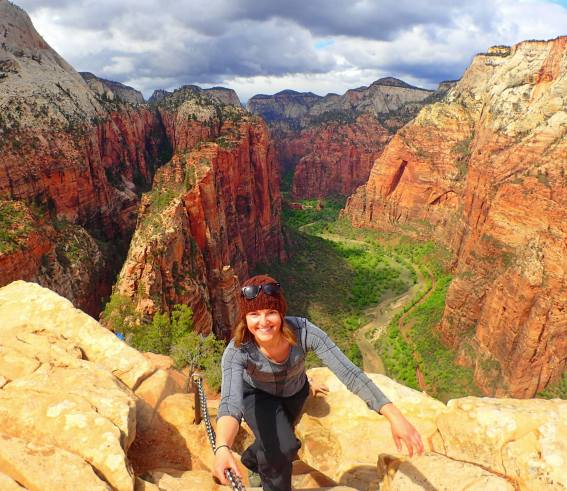 Angel's Landing, Zion, National Park, United States, Utah, Hike, Adventure, Trail Guide