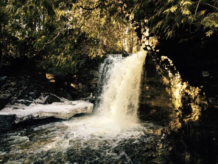 waterfalls, Hilton Falls Conservation area